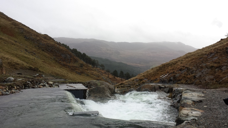A college trip to Snowdon to look at their new hydroelectric plant.