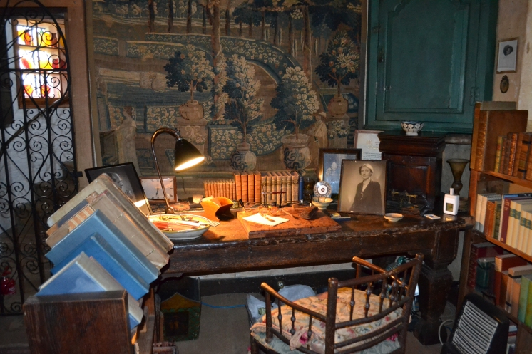 Vita's writing room in the tower.