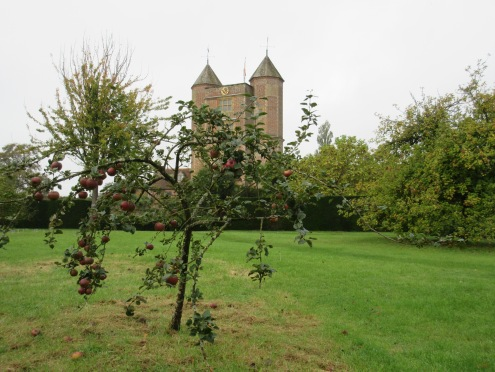 Sissinghurst: the orchard in mid-October