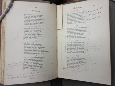 Vita's much marked and annotated copy