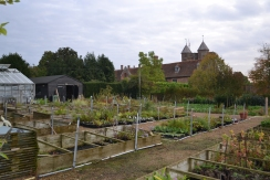 The nursery is situated behind the Rose Garden.