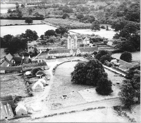 An overview of Sissinghurst Garden in 1932